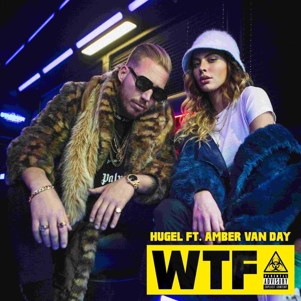 Hugel WTF ft. Amber van Day Cover