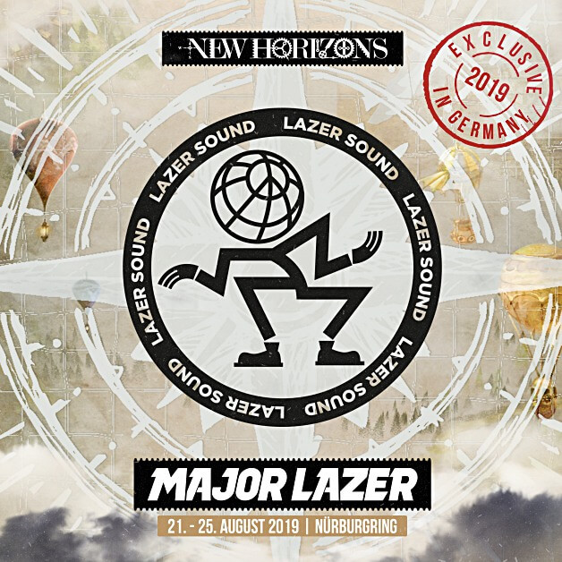 Major Lazer auf dem New Horizons Festival 2019