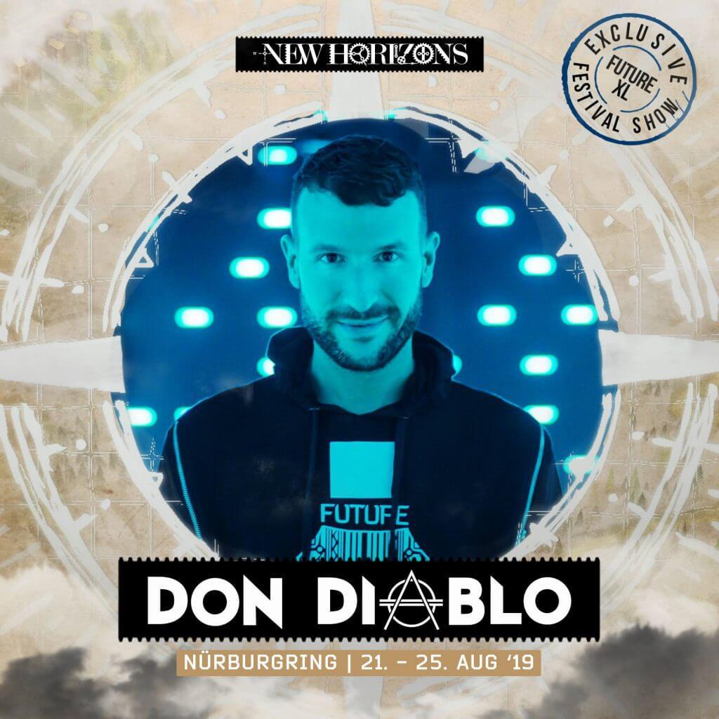 Don Diablo New Horizons Festival 2019 Cover
