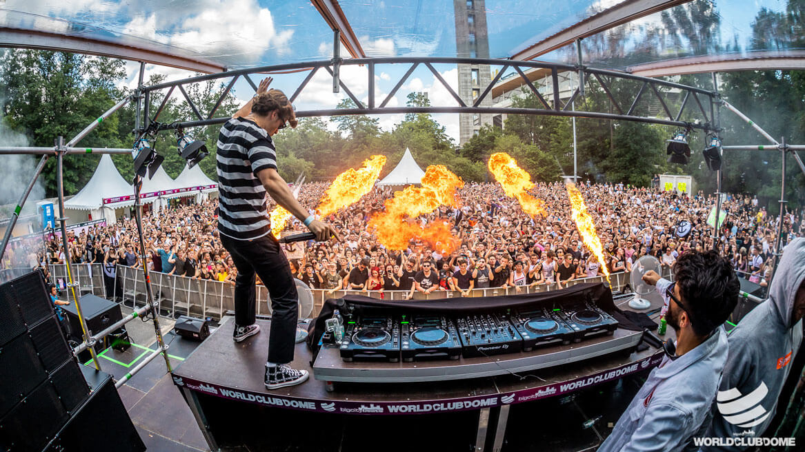 WORLD CLUB DOME: The New Outdoor Mainstage